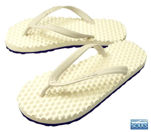 中性拖鞋的腳足底按摩極大地影響澳大利亞按摩涼鞋靈魂 (靈魂) d