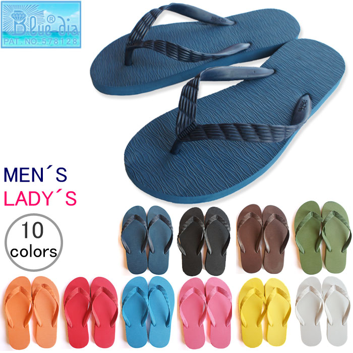 8431281a9 Beach Sandals DIA inside and outside rubber unisex men's Womens ' world's  first 'original' ...