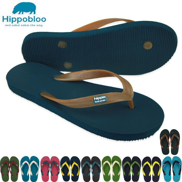 像海濱拖鞋棉花糖那樣柔軟的天然的生橡膠植物由來ヒッポブルー(hippo bloo)男女兩用粉紅色/酸橙