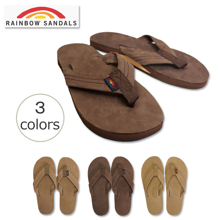 4ecd8e1905f7 The rainbow sandals (RAINBOW SANDALS) 301ALTS PL unisex sandals which taste  is reflected on so as I wear it