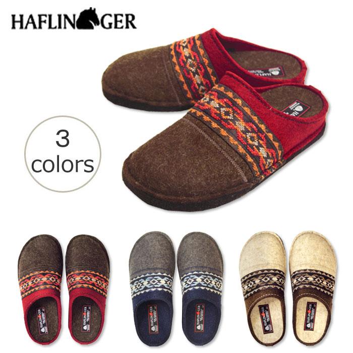 b17f8d204d4 All three colors of point 10 times HAFLINGER (Haflinger) Kelim (Karim) room  shoes 313038 unisex