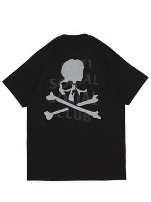 マスターマインド CLUB ANTI メンズ T-SHIRT SS Tシャツ アンチソーシャルソーシャルクラブ M-XL -BLACK- SOCIAL MASTER MIND ブラック SOCIAL