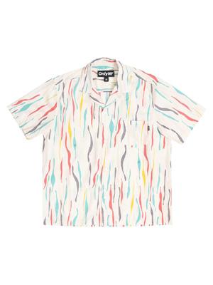 オンリーニューヨーク ONLY NY タンゴ ショートスリーブ シャツ Tango S/S Shirt -NATURAL- メンズ ユニセックス M-XL ナチュラル