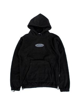 グライミー GRIMEY フリース フーディ DULCE SOLID POLAR FLEECE HOODIE -BLACK- メンズ M-XL ブラック