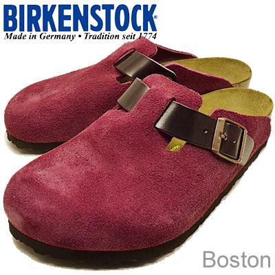 BIRKENSTOCK(ビルケンシュトック)Boston(ボストン)オーベルジーン/シャイニーワイン [靴・クロッグ サンダル・シューズ] 【smtb-TD】【saitama】