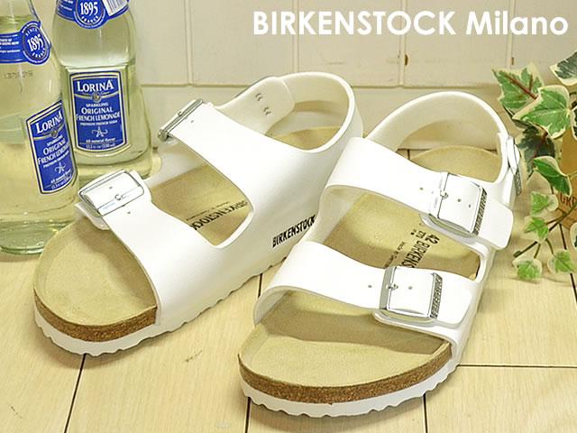 BIRKENSTOCK(ビルケンシュトック) Milano(ミラノ) ホワイト [靴・サンダル・シューズ]