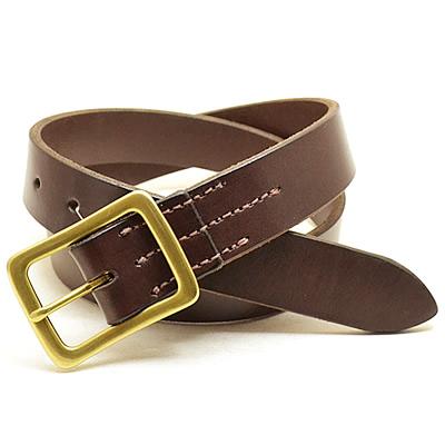 RED WING(レッド ウィング)Heritage Belt(ヘリテージベルト)/Leather Belt type2(レザーベルト タイプ2)【32mm幅】Habana Brown(ハバナ ブラウン)[USA/米国製]