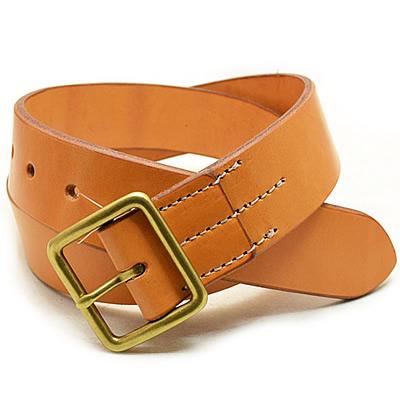 RED WING(レッド ウィング) Heritage Belt(ヘリテージベルト) /Leather Belt type1(レザーベルト タイプ1)【40mm幅】 Tan(タン)[USA/米国製]
