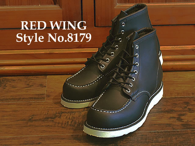 05c4e9f86e6a RED WING Redwing boots 8179 classic work and 6 inch MOC to RW-8179 CLASSIC  WORK 6