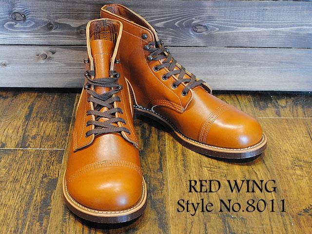 """RED WING(レッド ウイング)8011《IRON RANGE MUNSON》アイアンレンジ・マンソンブーツホワイトアッシュ""""セトラー""""[靴・ブーツ・シューズ]"""