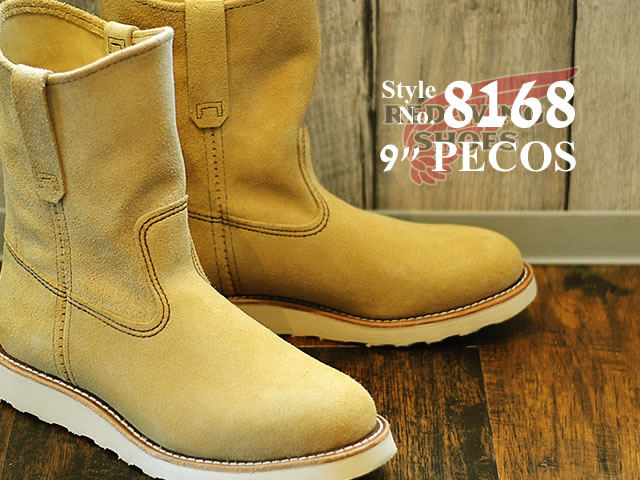 529e06c7e52 RED WING Redwing boots 8168 9 inch Pecos / sole RW-8168 9