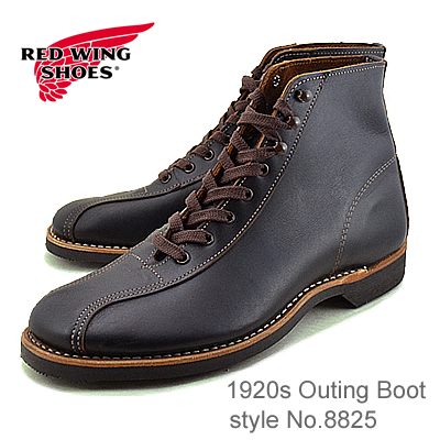 RED WING レッドウィング 8825 1920s Outing Boot アウティングブーツ Black