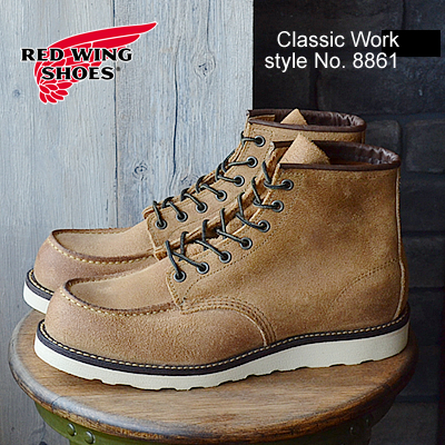 RED WING レッドウィング 8861 CLASSIC WORK 6