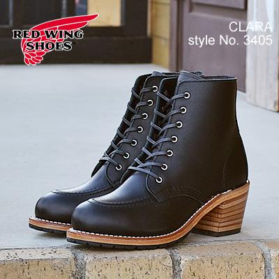 RED WING レッドウィング 3405 WOMEN'S MODERN CLARA ウィメンズ モダン クララ Black Boundary ブラック バウンダリー レディース 靴 ワークブーツ シューズ MADE IN USA