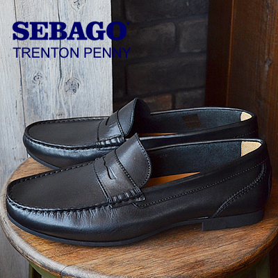 ★50%OFF★【箱不良】SEBAGO セバゴ TRENTON PENNY トレントンペニー BLACK ブラック 靴 スニーカー シューズ ローファー