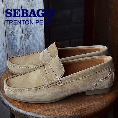 ★50%OFF★【箱不良】SEBAGO セバゴ TRENTON PENNY トレントンペニー TAUPE トープ 靴 スニーカー シューズ ローファー