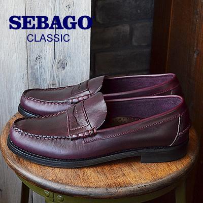★60%OFF★【箱不良】SEBAGO セバゴ CLASSIC クラシック PLUM プラム 靴 スニーカー シューズ ローファー