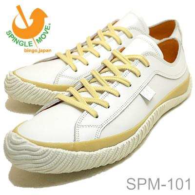 【5/5限定・カードでPOINT10倍・要エントリー】SPINGLE MOVE スピングルムーヴ スピングルムーブ SPM-101 WHITE ホワイト 靴 スニーカー シューズ スピングル