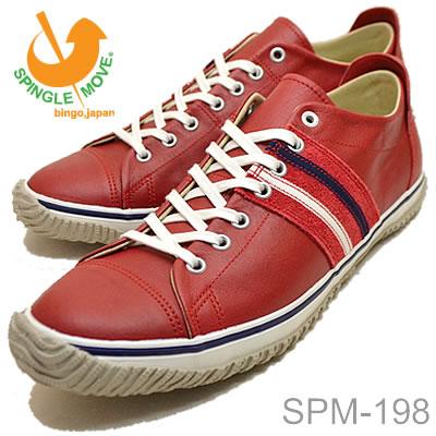 SPINGLE MOVE(スピングル ムーヴ/スピングル ムーブ) SPM-198 RED(レッド) [靴・スニーカー・シューズ]