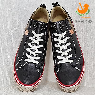 【返品交換送料無料】SPM-442 BLACK/RED ブラック/レッド 靴 スニーカー シューズ 【あす楽対応】