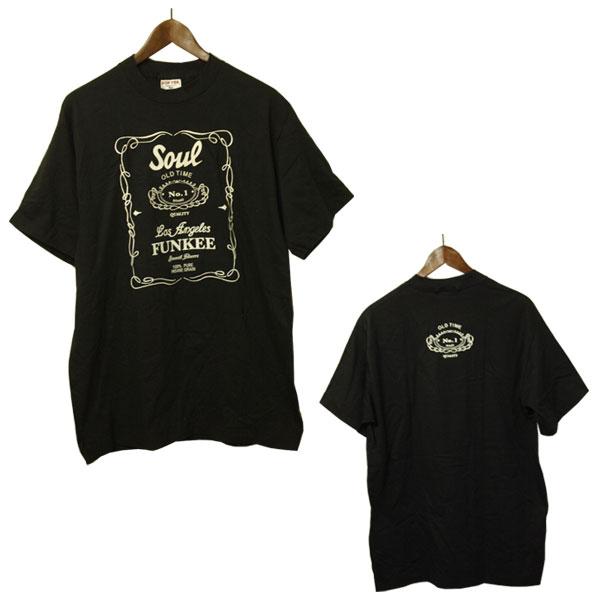 USAデッドストック 直営限定アウトレット soul ソウル プリントTシャツ メンズ Tシャツ デッドストック USA アメカジ 物品 アメリカ製 未使用 希少 レア カジュアル
