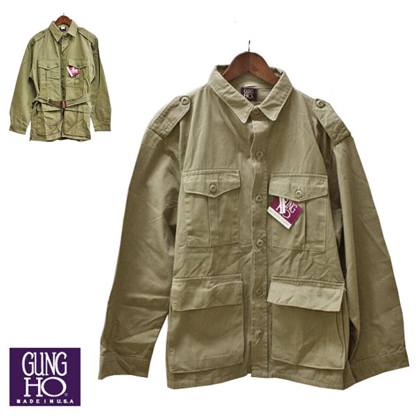 Walk Gung Ho Cancer Ho Safari Jacket Men Jacket Outer U S A