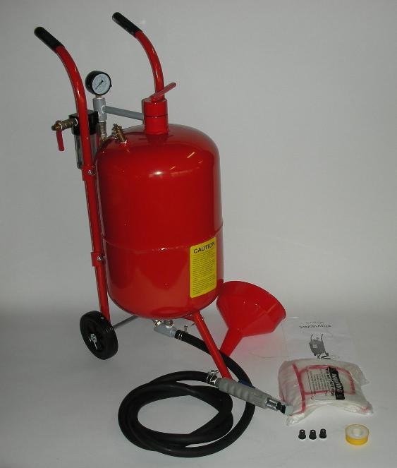 直圧サンドブラスター サンドブラスト(k007r)