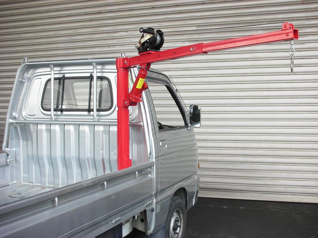 【大型商品・送料無料対象外】トラッククレーン 450kg (k709)