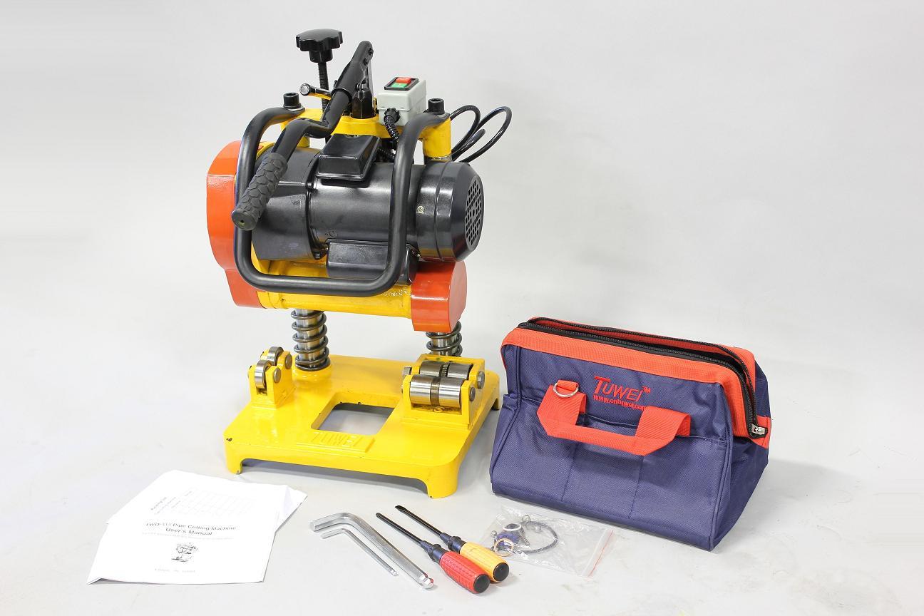 k899 大型電動パイプカッター 【配管 加工 機械 切断 溶接 TIG シーム シールド キールカッター】