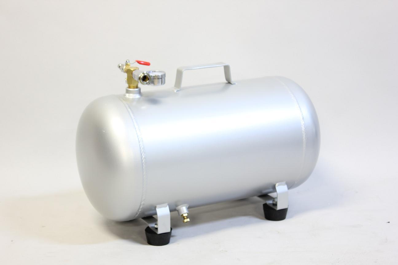 B送料 正規取扱店 期間限定 商品代金15000円以上で送料無料 k1075 高い素材 25L アルミエアータンク コンプレッサー タイヤ エアタンク 携帯 サブタンク