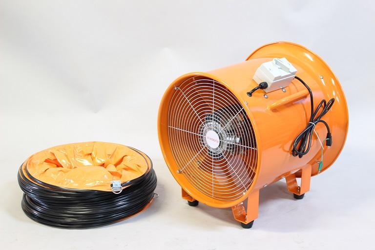 【大型商品】k1263 455mmポータブルファンCTF-45ダクトセット 【送風機】