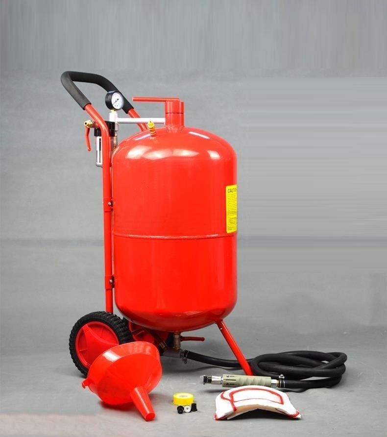 k1297 直圧サンドブラスター 20ガロン(赤)