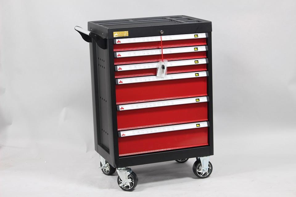 大型商品 送料無料対象外 k1722 モデル着用 注目アイテム アイテム勢ぞろい ツールボックス 6段引き出し付きキャビネットJS-6006 工具箱