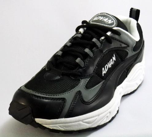 販売実績No.1 幅広3Eメンズスポーツシューズ ADVAN アドバン2000-01ブラック3E 紳士靴 新作 人気 #ダッドシューズ