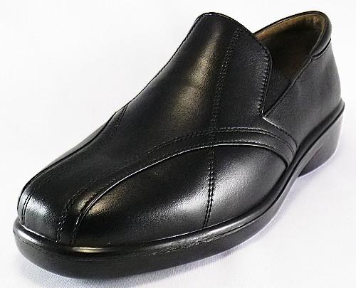 【SPORTH】スポルス7530ブラック4E【婦人靴】【天然皮革】【国産】【Made in Japan】