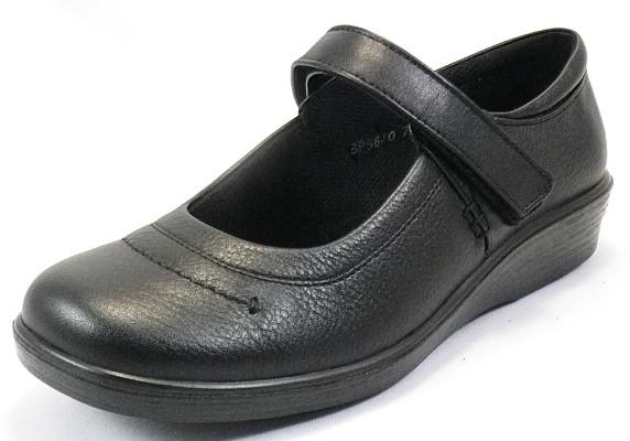 【SPORTH】スポルス5630ブラック4E【婦人靴】【撥水加工】【本革】【幅広】【国産】【衝撃吸収】【ベステック】【シフォンリラックス】【軽量設計】【ガーメントレザー】