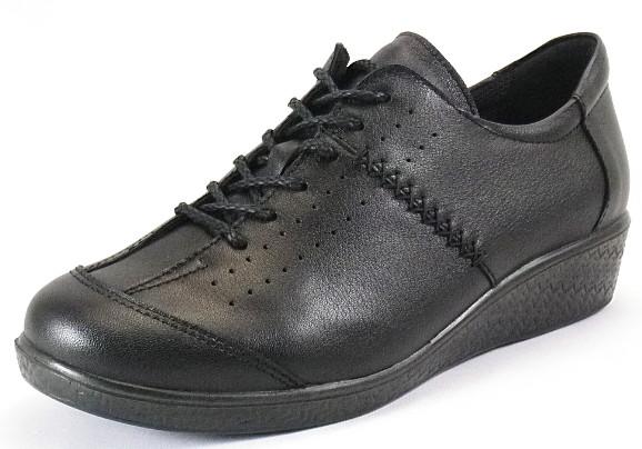 【SPORTH】スポルス2401ブラック4E【婦人靴】【撥水加工】【本革】【幅広】【国産】【衝撃吸収】【ベステック】【洗えるインソール】【軽量設計】【ガーメントレザー】【Made in Japan】
