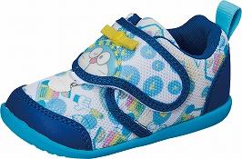 みんな大好き!ドラえもんのベビーシューズ 【I'm Doraemon】DRMベビー04ブルー2E【ベビー靴】【子供靴】【つま先ゆったり】【洗えるインソール】【出るベロ】【撥水加工】