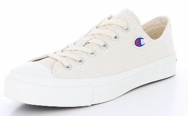 【Champion】CP-LS002JスピンコートOXナチュラル2E【チャンピオン】【婦人靴】【バルカナイズスニーカー】【国産】【SPIN COURT OX】