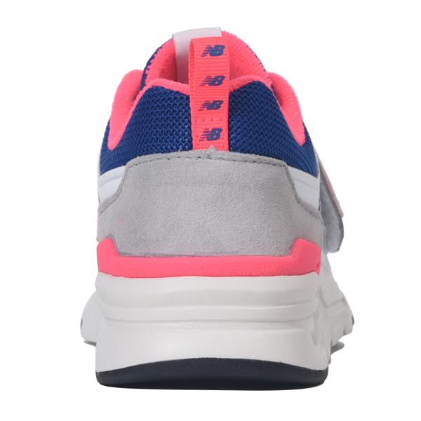 【PZ997HEA】 PZ997H-AJホワイト/ ブルー 【通園】 【ハーフサイズ】 【キッズ専用ラスト】 【ローカット】 【new balance】 【子供靴】