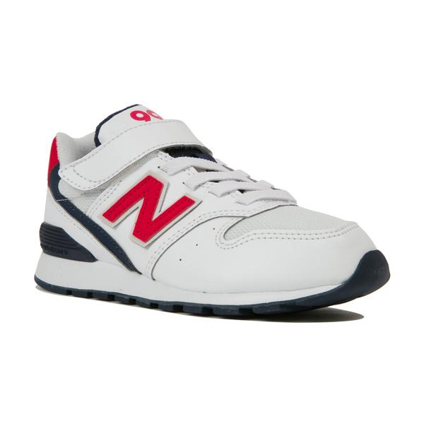 【new balance】YV996DO トリコロール【子供靴】【マジック】【ハーフサイズ】【C-CAP】【スリムフィット】【キッズ専用ラスト】
