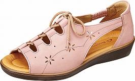 【SPORTH】スポルス5941ピンク【婦人靴】【サンダル】【天然皮革】【衝撃吸収】【ベステック】【軽量設計】【国産】