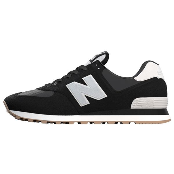 【newbalance】ML574-SPTブラック-D【婦人靴】【ランニングスタイル】【VINTAGE】