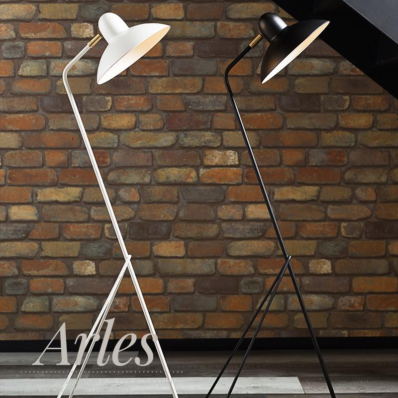 [1000円クーポン×マラソン]照明 テーブルランプ テーブルライト Arles アルル 白熱レフ球付き ブラック ホワイト 《即納可》
