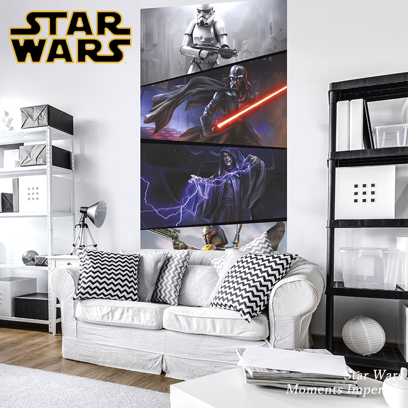 [全品P10倍!20日20時~4H限定]壁紙 輸入壁紙 インポート壁紙 スターウォーズ starwars STARWARS のりなし 不織布 おしゃれ クロス 店舗 内装 撮影 ドイツ製 [Star Wars Moments Imperials]VD-027