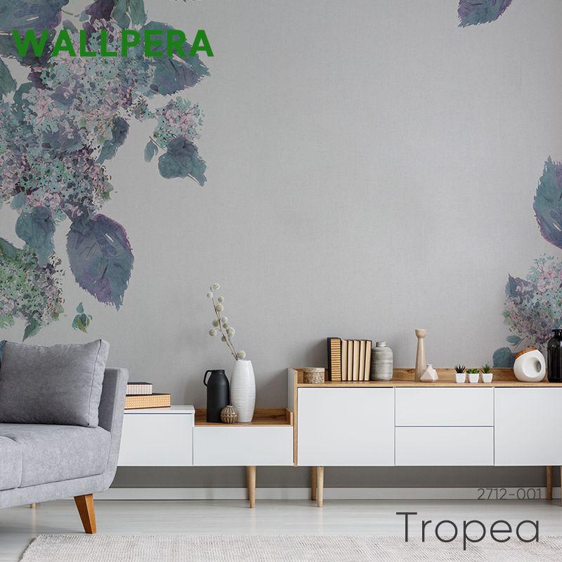 壁紙 クロス 輸入壁紙 おしゃれ フリース WALLPERA 花柄 2712-001 Tropea トロペア