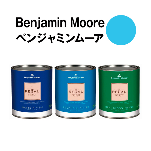 ベンジャミンムーアペイント 2060-50 cayman cayman blue 水性塗料 ガロン缶(3.8L)約20平米壁紙の上に塗れる水性ペンキ