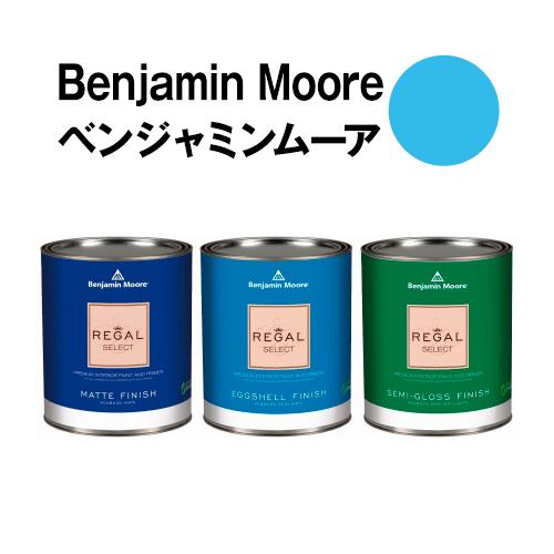 安全な水性塗料 ペンキ におわず ムラが出来ないのでDIY セルフリフォームに最適です ベンジャミンムーアペイント 2065-50 正規品送料無料 高額売筋 ガロン缶 wave 3.8L 水性塗料 blue 約20平米壁紙の上に塗れる水性ペンキ