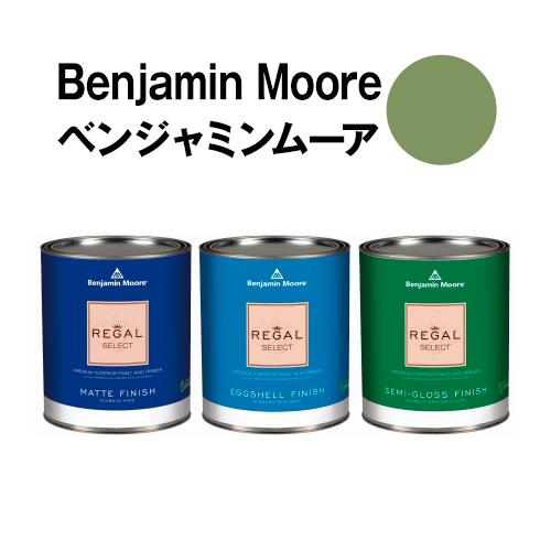 ベンジャミンムーアペイント 433 forest forest hills 水性塗料 greenガロン缶(3.8L)約20平米壁紙の上に塗れる水性ペンキ