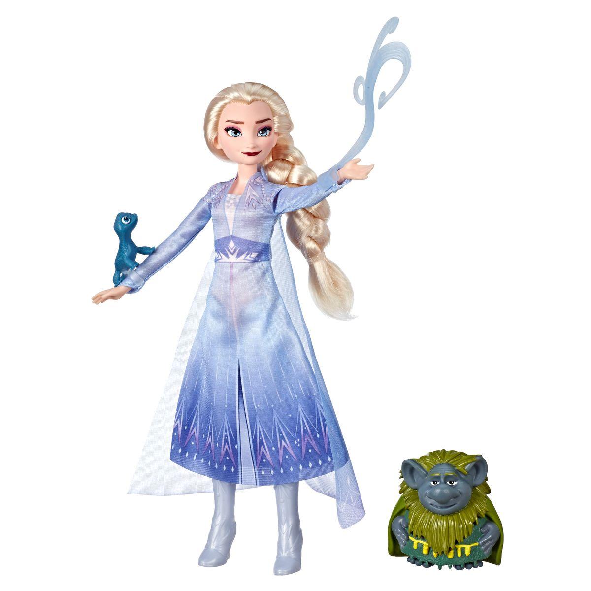 [送料無料] Disney アナと雪の女王 エルサ 人形 パビー サラマンダー Frozen 2 Elsa [海外直送]
